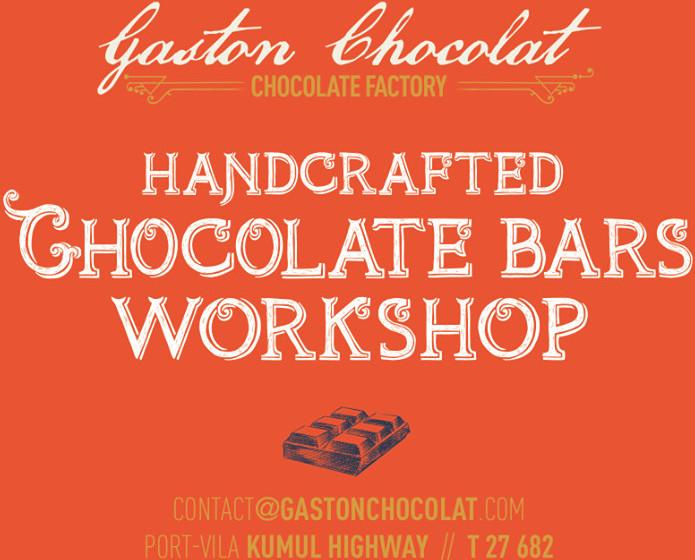 Handcrafted Chocolate Bar Workshop - Gaston Chocolat